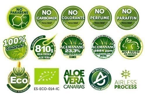 Aloe Vera Crema Gel Penca Zabila Canarias