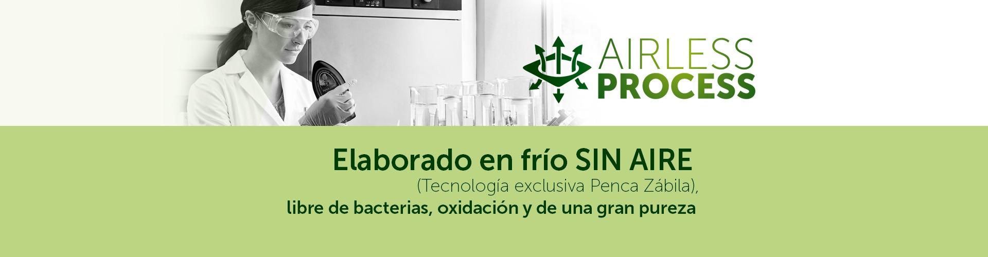 Aloe Vera AIRLESS Process (Penca Zabila Tecnologia Exclusiva)
