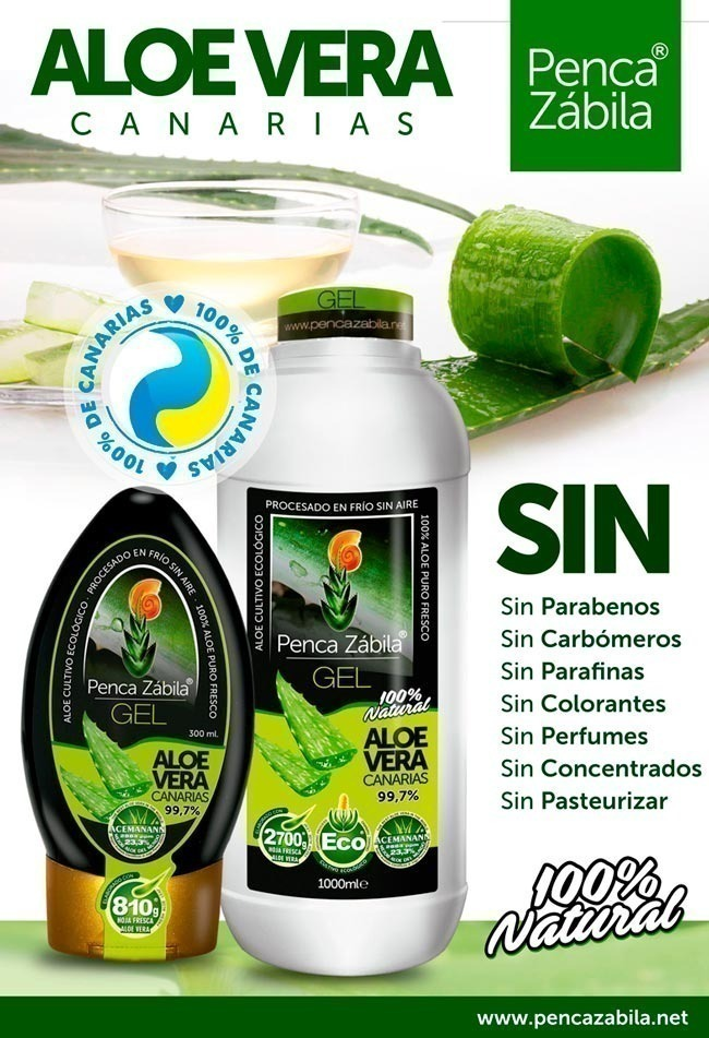 Gel Aloe Vera Natural Puro Fresco