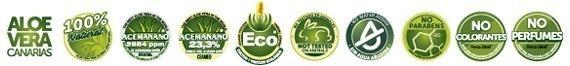 aloe vera sellos calidad ecologico