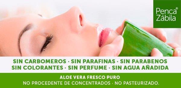 Aloe Vera Puro, Natural, Fresco y Ecologico