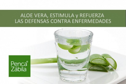 Aloe Vera Juice strengthens defenses. Against diseases