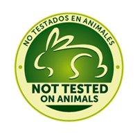 No testado en animales